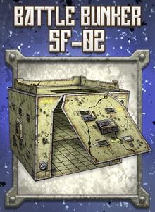 Battle Bunker SF-02 Paper Model - Dave Graffam Models | Sci-Fi |  DriveThruRPG com