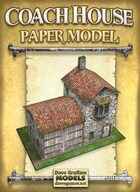 Coach House Paper Model