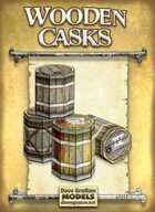 Wooden Casks Paper Models