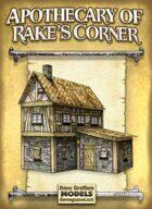 Apothecary of Rake's Corner Paper Model