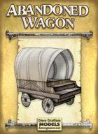 Abandoned Wagon Paper Model