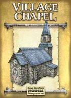 Village Chapel Paper Model