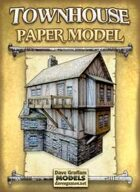 Townhouse Paper Model