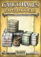 Cargo Bales Paper Models