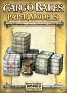 Cargo Bales Paper Models