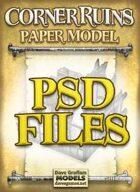Corner Ruins PSD Files