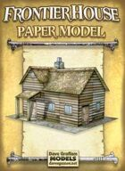 Frontier House Paper Model