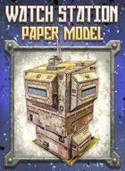 Watch Station Paper Model