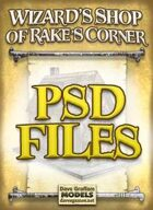 Wizard's Shop of Rake's Corner PSD Files