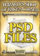 Wizard's Shop of Rake's Corner PSD Files