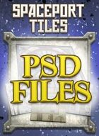 Spaceport Tiles PSD Files