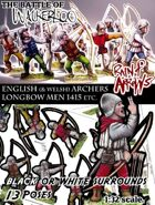 English Archers 1415-ish Agincourt, 100yrs War etc.