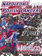 Napoleon's Polish Lancers 1809-1815.