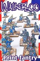 Skirmish! 13th Leger & 2nd light bat. KGL