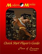 Modern Monks Quick Start Player's Guide