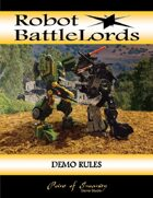 Robot BattleLords Demo