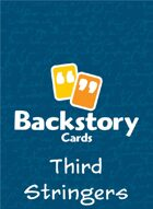 Backstory Cards: Third Stringers
