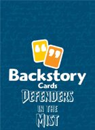 Backstory Cards Setting Grid: Defenders in the Mist