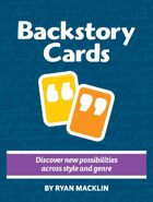 Backstory Cards vol. 2