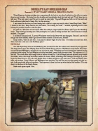 Gunman's Law Scenario 7: Wyatt Earp Needs a Helping Hand