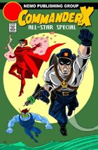 Secret Identity Podcast Issue #454--Commander X and Battlepug