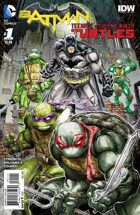 Secret Identity Podcast Issue #711--Batman/TMNT