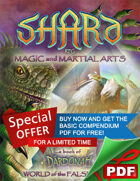 SHARD RPG Magic and Martial Arts PDF Set