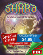 SHARD RPG Basic Compendium PDF Set