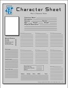 OpenD6 Character Sheet - 2 Page Version