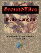 GroundTiles Battlemap #1: Hells Canyon