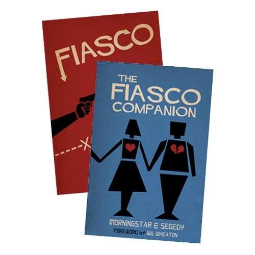 Fiasco + Companion [BUNDLE] - Bully Pulpit Games | Fiasco | DriveThruRPG com
