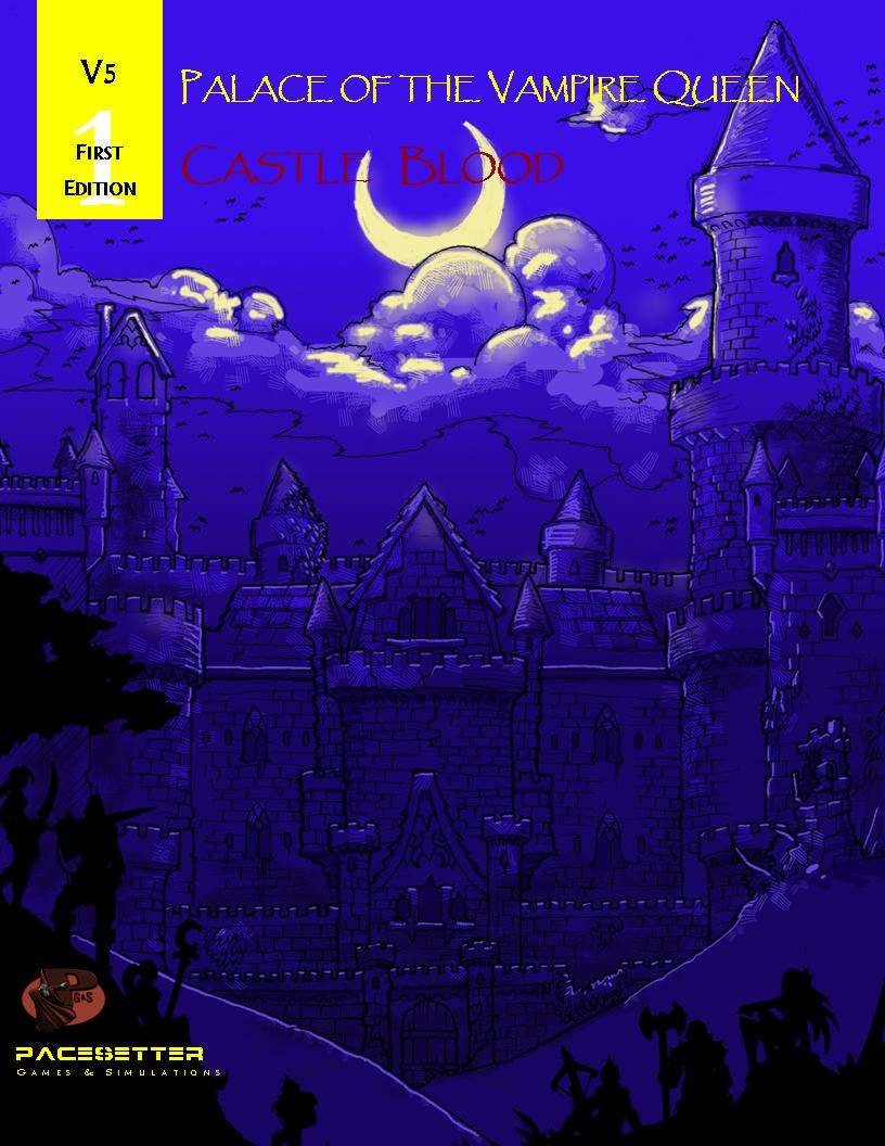 Cover of V5 Palace of the Vampire Queen Castle Blood