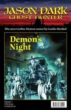 Demon's Night (Jason Dark - Ghost Hunter)
