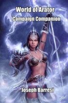 World of Arator Campaign Companion
