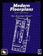 Modern Floorplans: Diner