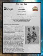 Olympus Inc: Five New Slosi