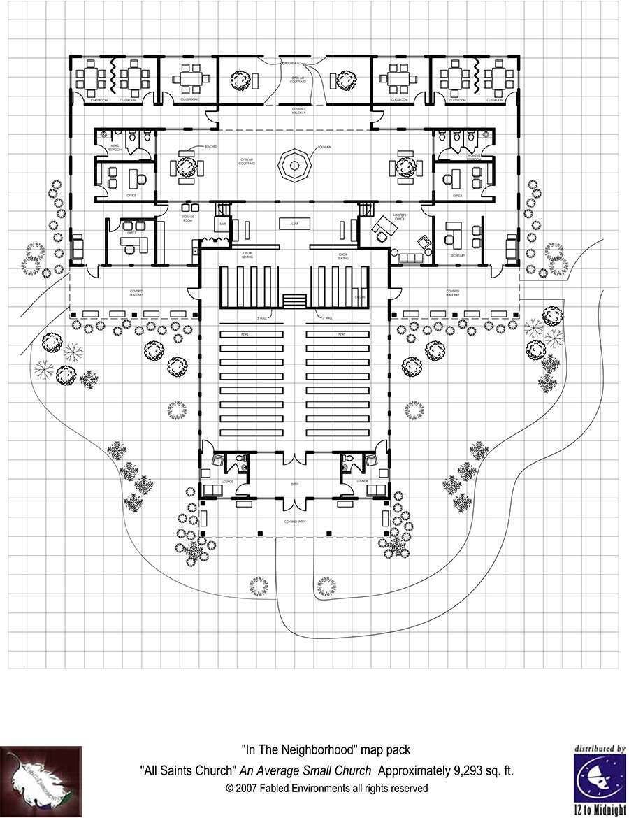 Modern floorplans neighborhood church fabled for Modern church designs and floor plans
