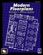 Modern Floorplans Volume 1: Office Spaces