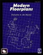 Modern Floorplans Volume 4: At Home  [BUNDLE]