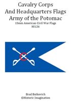 Army of the Potomac Cavalry Corps and Headquarters American Civil War 15mm Flag Sheet