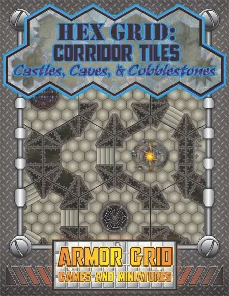 http://www.wargamevault.com/product/132235/Hex-Grid-Corridor-Tiles