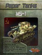 Paper Tanks - MS-1