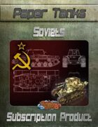 Soviet Paper Tanks Subscription