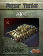 Paper Tanks - KV-1