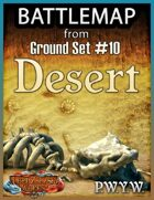 FREE Battlemap from Ground Set #10 - Desert