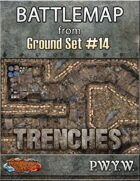 FREE Battlemap from Ground Set #14 - Trenches