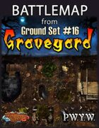 FREE Battlemap from Ground Set #16 - Graveyard
