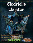 Eledriel's Cloister - Paper Model