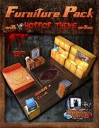 Furniture Pack - with HORROR theme option
