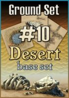 Ground set #10 - Desert roads, ruins